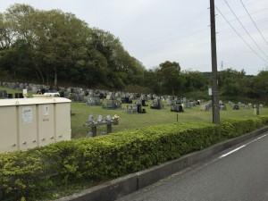 鵯越墓園 新芝生地区