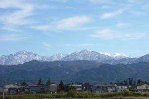 富山墓苑風景