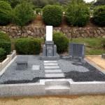 芦屋市霊園にてお墓の建て替え工事いたしました。