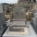 春日野墓地にて工事完了いたしました。