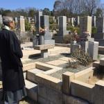 神戸市営舞子墓園にて墓じまい工事いたしました。