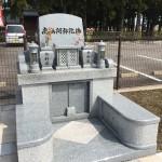 富山墓園にてお施主様と打ち合わせに行ってきました。