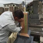 神戸春日野墓地にて現場彫りいたしました。