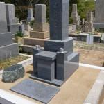 鵯越墓園でお墓の建て替え、修理をしました。