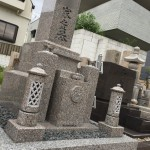 中勝寺墓地にてお墓完成しました。