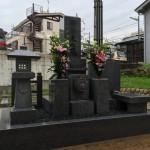 中勝寺にて墓石建立、納骨式立ち合いしてきました