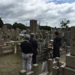 鵯越墓園にてお墓解体、閉眼式を行いました