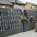 法園寺の永代供養墓2件設置しました。
