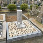 神戸市営、鵯越墓園にてお墓を建立しました