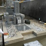 三木市箕谷墓地でお墓を建立させていただきました。
