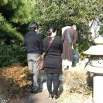 舞子墓園にて墓じまいの閉眼式させていただきました