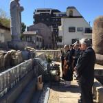 中勝寺で永代供養墓にて納骨式
