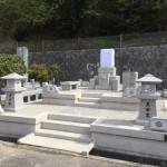 鵯越墓園にて万成石のお墓を建てました