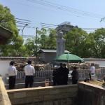 中勝寺墓地にて永代供養墓を建立