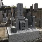 明石市寺墓地にてお墓の建て替えリフォーム