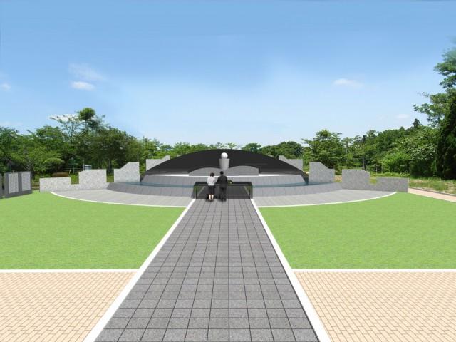 合葬墓イメージ図
