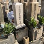 尼崎寺町、本興寺でお墓のリフォーム修理
