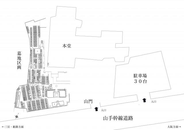 中勝寺地図