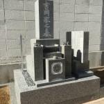 お墓の改葬移設工事完了しました