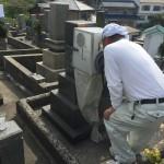 坊勢島にお墓を建てに行ってきました