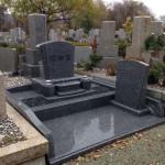 鵯越墓園にて墓石工事完了しました。