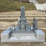 宝塚すみれ墓苑に墓石工事完了しました。