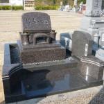 三田市営墓地にて墓石工事完成しました。
