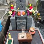 神戸春日野墓地で納骨式お手伝いをいたしました。