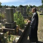 鵯越墓園で墓じまいのご依頼いただきました