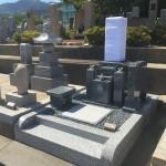 東明桜ヶ丘霊園にて墓石建立しました!
