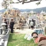 石屋墓園の永代供養の納骨式に行ってきました。