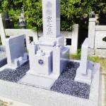 神埼郡福崎町の村墓地にてお墓を建てました