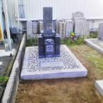 淡路島にて矢掛石でお墓を建てました