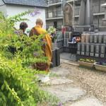 法泉寺さんにてU家の永代供養墓を建立