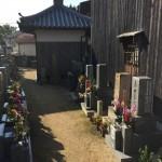 明石市西松江にてお墓じまいに行ってきました。