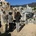 石屋墓園でW家の永代供養墓を建立させていただきました。