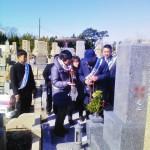 鵯越墓園ひいらぎ地区にてお墓を建立させていただきました。