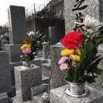 お墓じまいされて尼崎の法園寺永代供養墓にお引越し