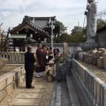 中勝寺 永代供養墓にて納骨式させていただきました。