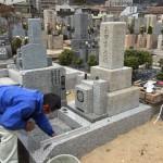 西宮より神戸の石屋墓園にお墓の移転・引越作業