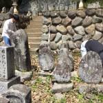 兵庫県養父市で墓じまいの現場確認