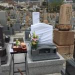 石屋墓園にて納骨式させていただきました