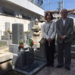 中勝寺墓地、大島石8寸でお墓を建立