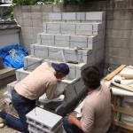 灘区、弘法寺の永代供養墓工事再開しました。