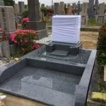 舞子墓園にて洋墓を建立させていただきました。