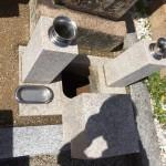 法泉寺春日野墓地、納骨式の立会をさせていただきました。