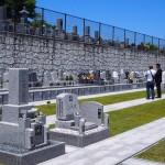 墓地の区画