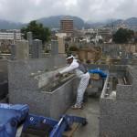 石屋墓園の永代供養墓、8月初旬完成予定です