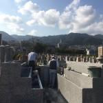 石屋墓園永代供養墓新区画、もうすぐ完成します。