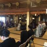 「浄蓮寺」にて施餓鬼法要のお手伝い